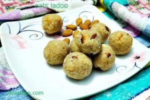 oats laddu recipe | oats nuts ladoo recipe | oats dry fruits laddu